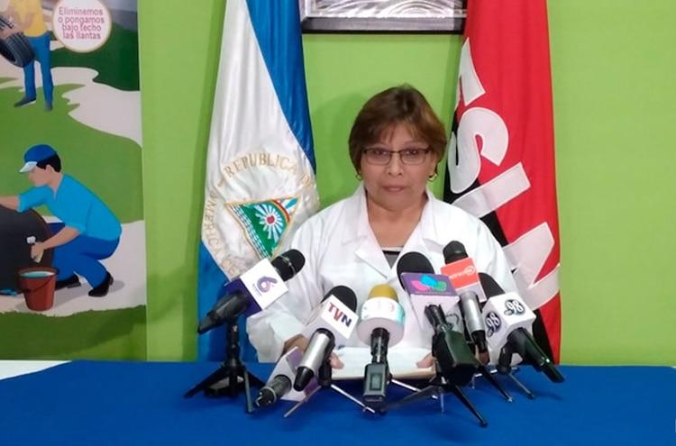 La doctora Martha Reyes fue nombrada recientemente ministra de Salud, con lo que el gobierno de Ortega consiguió el record de tener en su gabinete a tres ministras de Salud simultáneamente. (19 Digital)