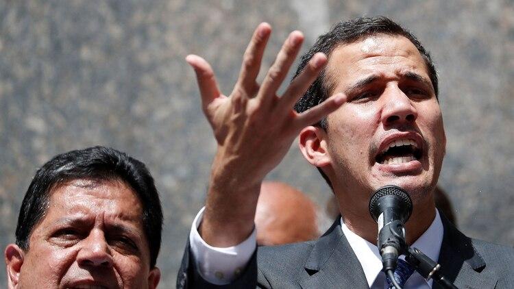 Guaidó se proclamó presidente interino de Venezuela y recibió el reconocimiento de EEUU y gran parte de la comunidad internacional (Foto: Reuters)