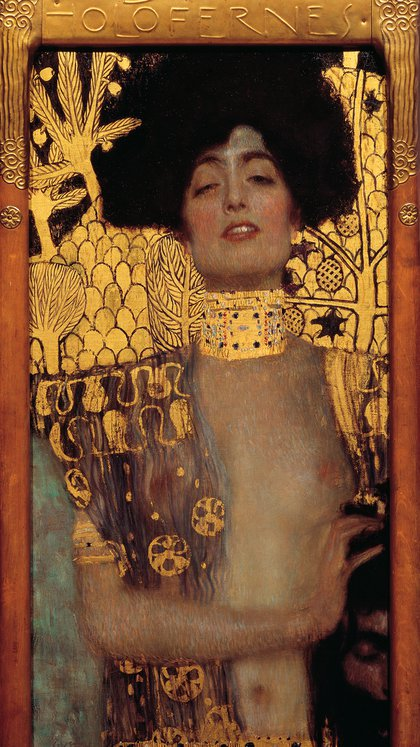 """""""Judith I"""" (1901) en Museo Belvedere, Viena"""