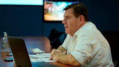 Guillermo Montenegro, intendente de General Pueyrredón