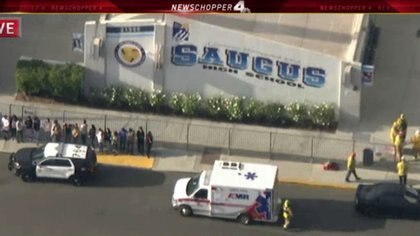 El colegio Saugus fue donde se llevó a cabo el tiroteo este 14 de noviembre. (Foto: Especial)