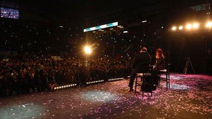 Cristina Kirchner junto a Eduardo Peñafort (Fotos: Frente de Todos)