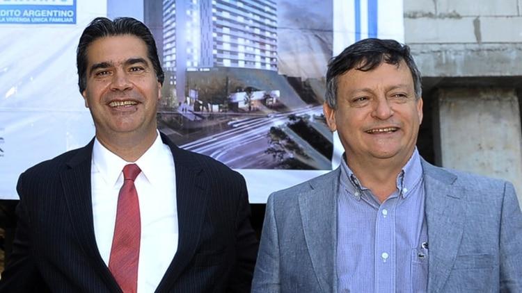 Jorge Capitanich y Domingo Peppo (NA)