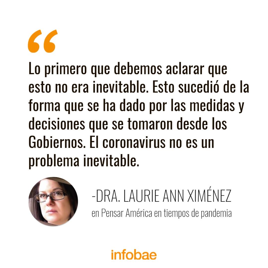 Placa Ann Ximénez Pensar América