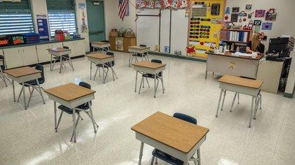 Con 92 escuelas, 345.000 estudiantes y alrededor de 40.000 empleados, el distrito escolar de Miami-Dade es el cuarto más grande de Estados Unidos por detrás de los de Nueva York, Los Ángeles y Chicago. EFE/Cristóbal Herrera/Archivo