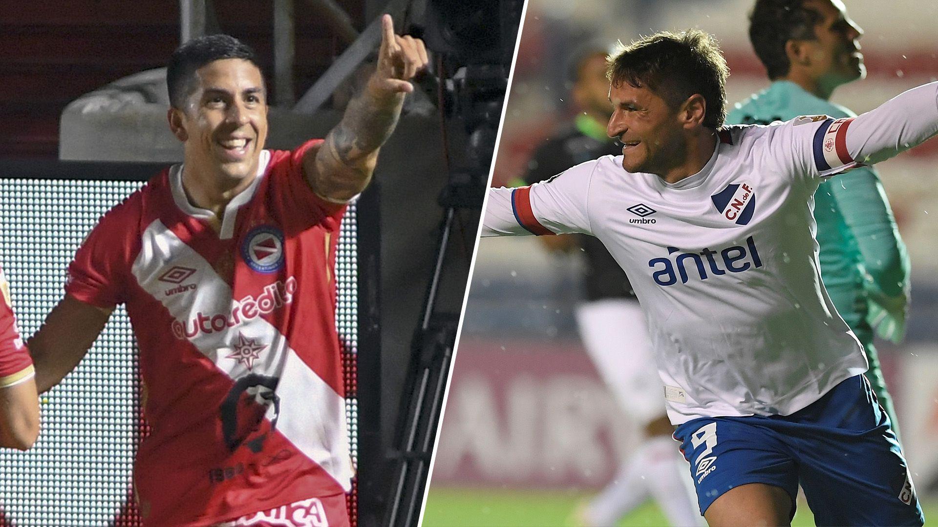 Argentinos Juniors vs Nacional - Copa Libertadores