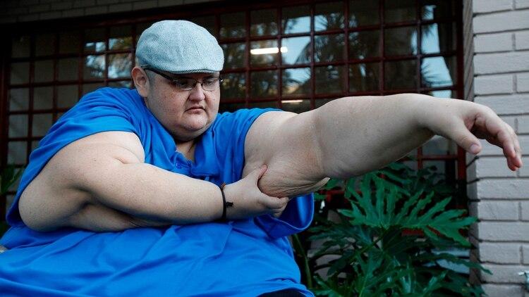 """""""Lo más difícil es lidiar con uno mismo"""": la conmovedora batalla del hombre más obeso del mundo"""