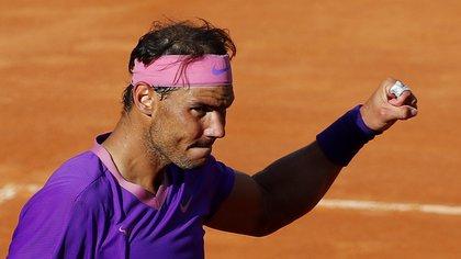 El show de Rafa Nadal en el Masters de Roma: salvó dos match points en una épica batalla de tres horas y media