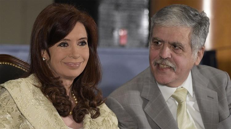 Cristina Kirchner y Julio De Vido (AFP)