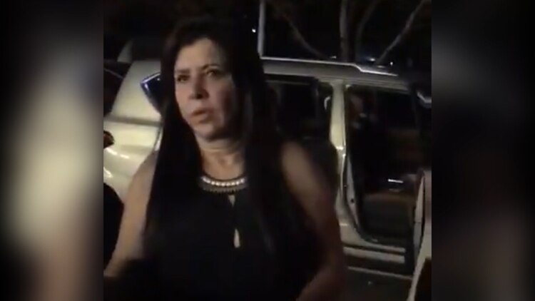 Rosalinda González Valencia, esposa de