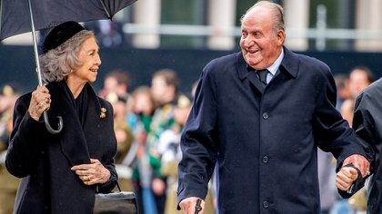 Los reyes Juan Carlos y Sofía (Shutterstock)