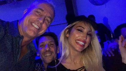 Marley, Humberto Tortonese y Vicky Xipolitakis (Foto: Instagram)