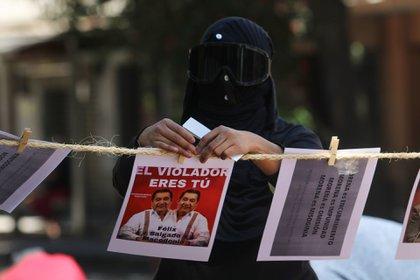 La solicitud de no votar por Morena que no protege a las mujeres se da en el marco del Día Naranja (Foto: Cuartoscuro)