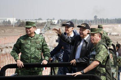 El presidente ha sostenido gran parte de su proyecto político en las Fuerzas Armadas (Foto: Cuartoscuro)