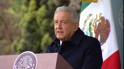 El presidente de México, Andrés Manuel López Obrador es uno de los opositores a las ideas de los asilos para adultos mayores (Foto: Twitter/Conade)