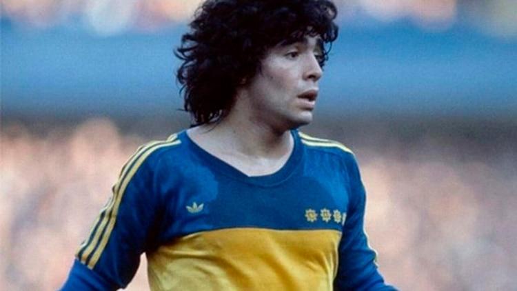 La camiseta que Boca utilizó en 1981