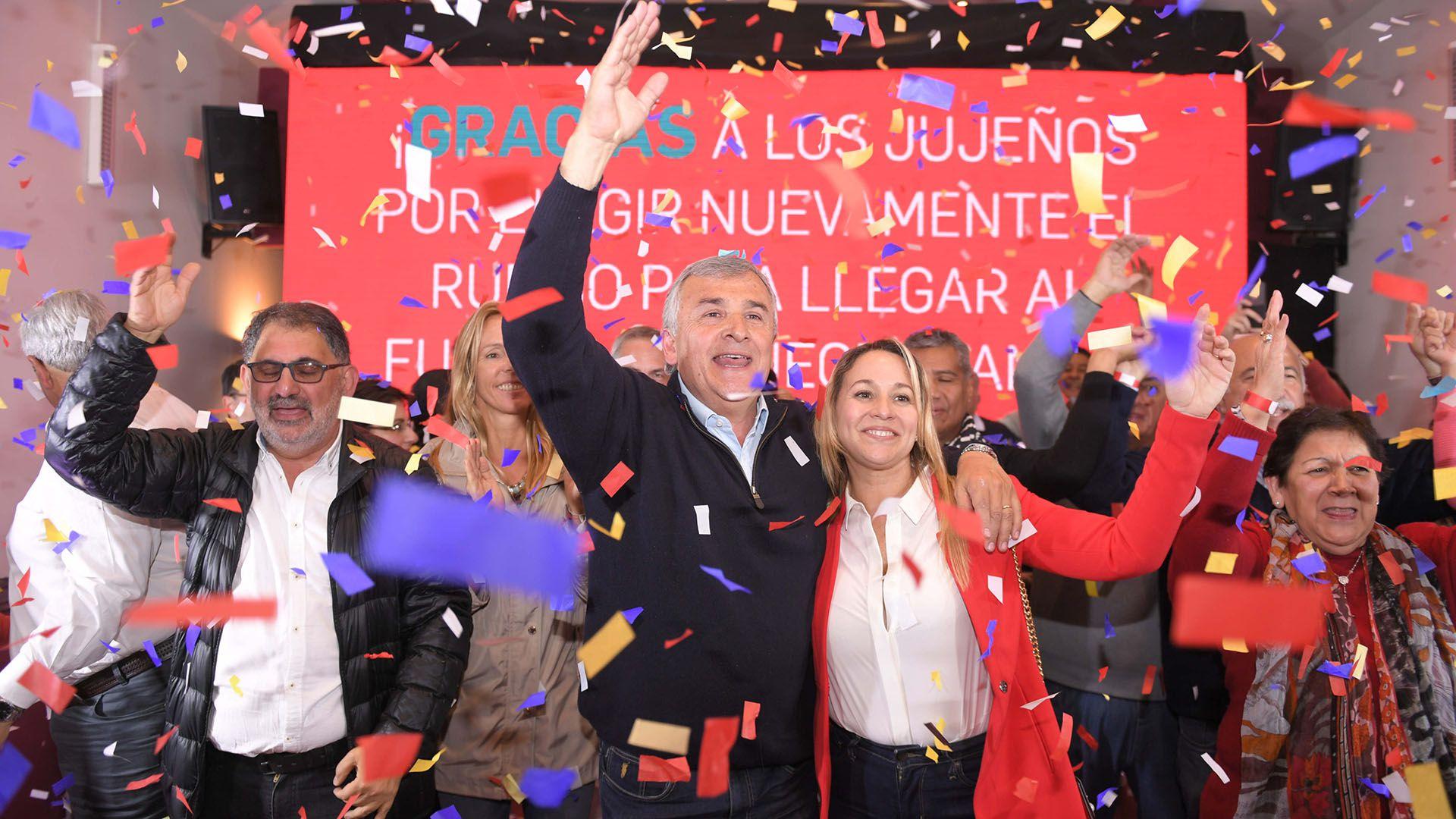 Gerardo Morales. El gobernador de Jujuy logró su reelección (Télam)
