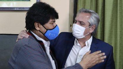Alberto Fernández se reencontró con Evo Morales en Jujuy