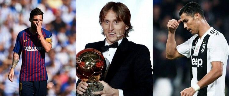 Cristiano Ronaldo y Lionel Messi han ganado 5 Balones de Oro cada uno (Foto  74b6bdf7ee5e5