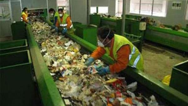 Reclasificación de residuos en una planta bonaerense
