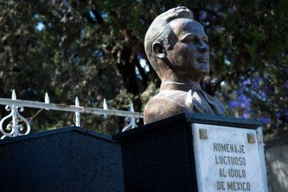 Algunos creen que en el Panteón Jardín no descansan los restos de Pedro Infante, pues su muerte en 1957 fue soló un mito.  Foto: Mau HL / Infobae