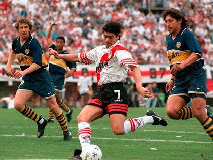 Marcelo Salas no firmó con Boca y al poco tiempo se transformó en figura de River