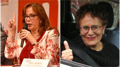 Polevnsky y Luján son dos de los cuatro candidatos en total que hasta ahora se han manfiestado en busca de la presidencia de Morena (Foto: Especial)