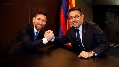 Lionel Messi explicó que no tiene poder de decisión en la directiva del FC Barcelona (Reuters)