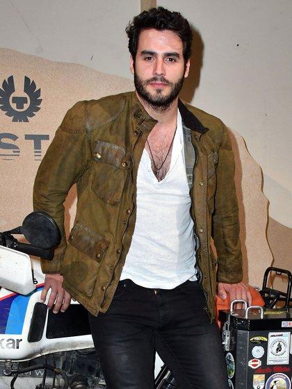 José Ben Cura en el London Fashion Week en 2017 (Crédito: Shutterstock)