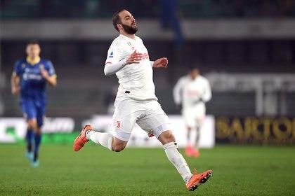 Higuaín tiene contrato hasta el 2021 en Juventus (Foto: Reuters)