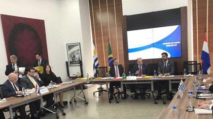 La reunión de los cancilleres del Mercosur (Foto: Aloysio Nunes)
