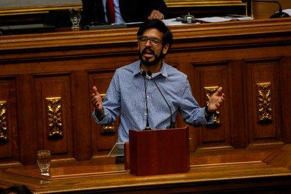 Dans l'image, le député vénézuélien Miguel Pizarro.  EFE / Cristian Hernndez / Archives