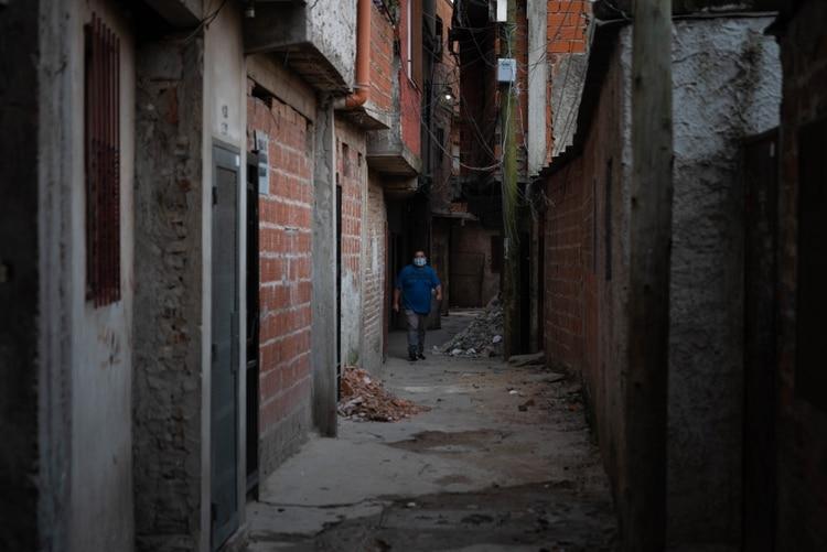 En los últimos días se registró un incremento de contagios de COVID-19 en las villas miseria (Foto: Franco Fafasuli)