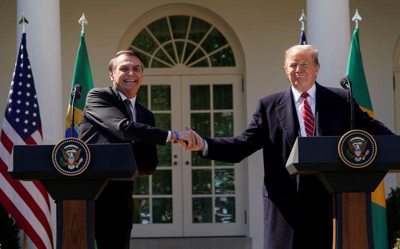 Jair Bolsonaro y Donald Trump (Reuters/archivo)