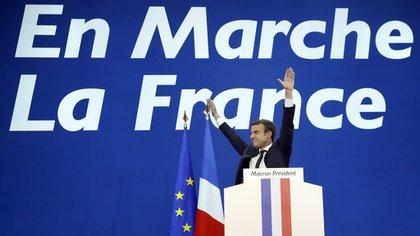 Emmanuel Macron, el presidente más joven en la historia de Francia (AFP)