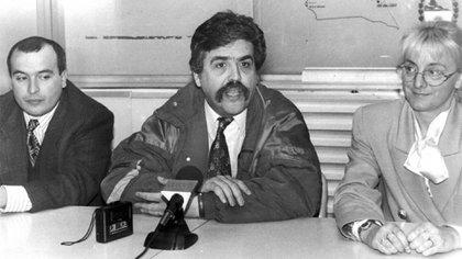José López, Julio De Vido y Alicia Kirchner