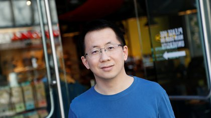 Zhang Yiming, founder and global CEO of ByteDance, poses in Palo Alto, California, U.S., March 4, 2020. Picture taken March 4, 2020.   REUTERS/Shannon Stapleton