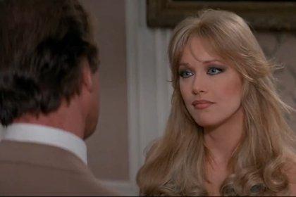 Tanya Roberts, conocida por sus roles de Stacey Sutton en Panorama para matar y Midge Pinciotti en Aquellos maravillosos 70