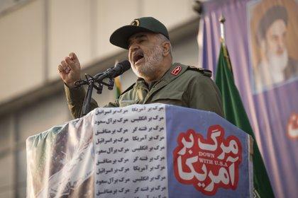 El jefe de la Guardia Revolucionaria de Irán, Hosseim Salami, amenazó a EEUU con una venganza tras la muerte de Soleimani (Rouzbeh Fouladi/ZUMA Wire/dpa)