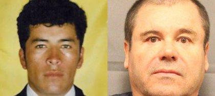 """Heriberto Lazcano Lazcano y Joaquín """"El Chapo"""" Guzmán Loera (Foto: archivo)"""