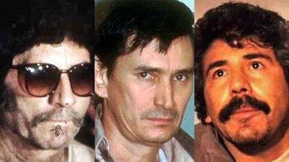 Caro Quintero, Don Neto y Félix Gallardo fundaron el poderoso Cártel de Guadalajara entre finales de 1970 y mediados de 1980 (Foto: Archivo)