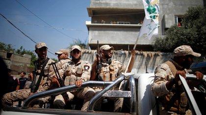 Efectivos de Hamás en Gaza. (Reuters)