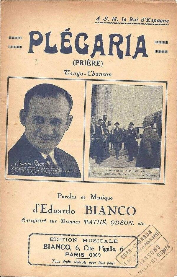 """Eduardo Bianco y """"Plegaria"""", el tango preferido de Goebbles que se tocaba en los campos de concentración"""