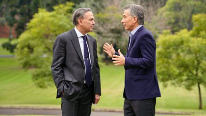Macri y Pichetto: primera foto de la fórmula de la coalición Juntos para el Cambio