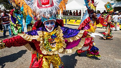 Carnival of Barranquilla, in Colombia.