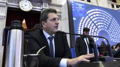 Sergio Massa, presidente de la Cámara de Diputados