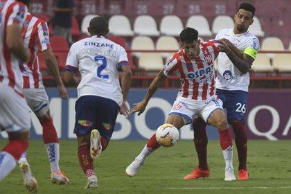 Unión igualó con Bahía en Santa Fe y quedó eliminado de la Copa  Sudamericana - Infobae