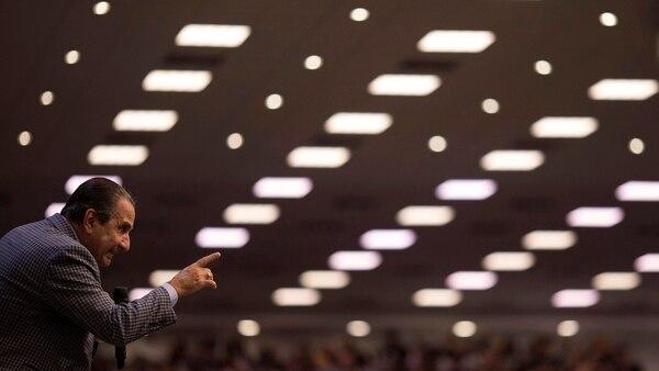 El influyente pastor evangelista Silas Malafaia (AP Photo/Leo Correa)