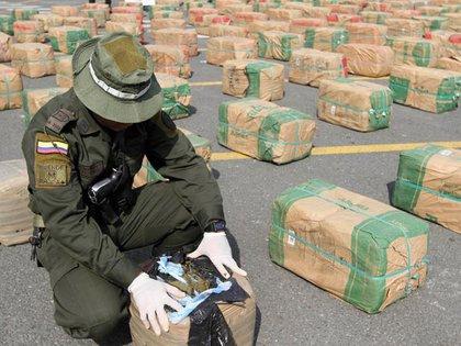 Incautaciones realizadas de cannabis en Colombia. Reuters 163