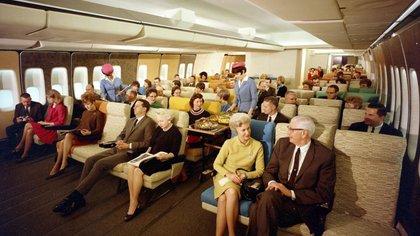 Vuelo de Pan Am en los años 70